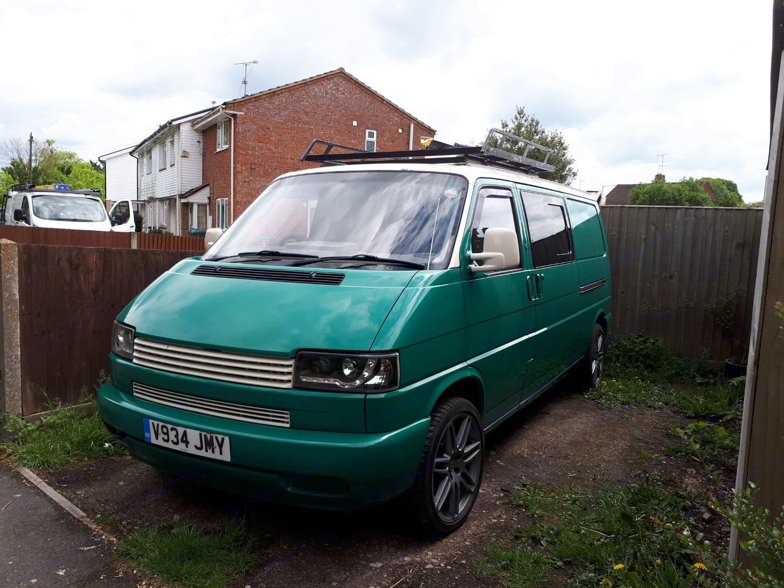 The Green Machine!. Volkswagen T4 Transporter 2000