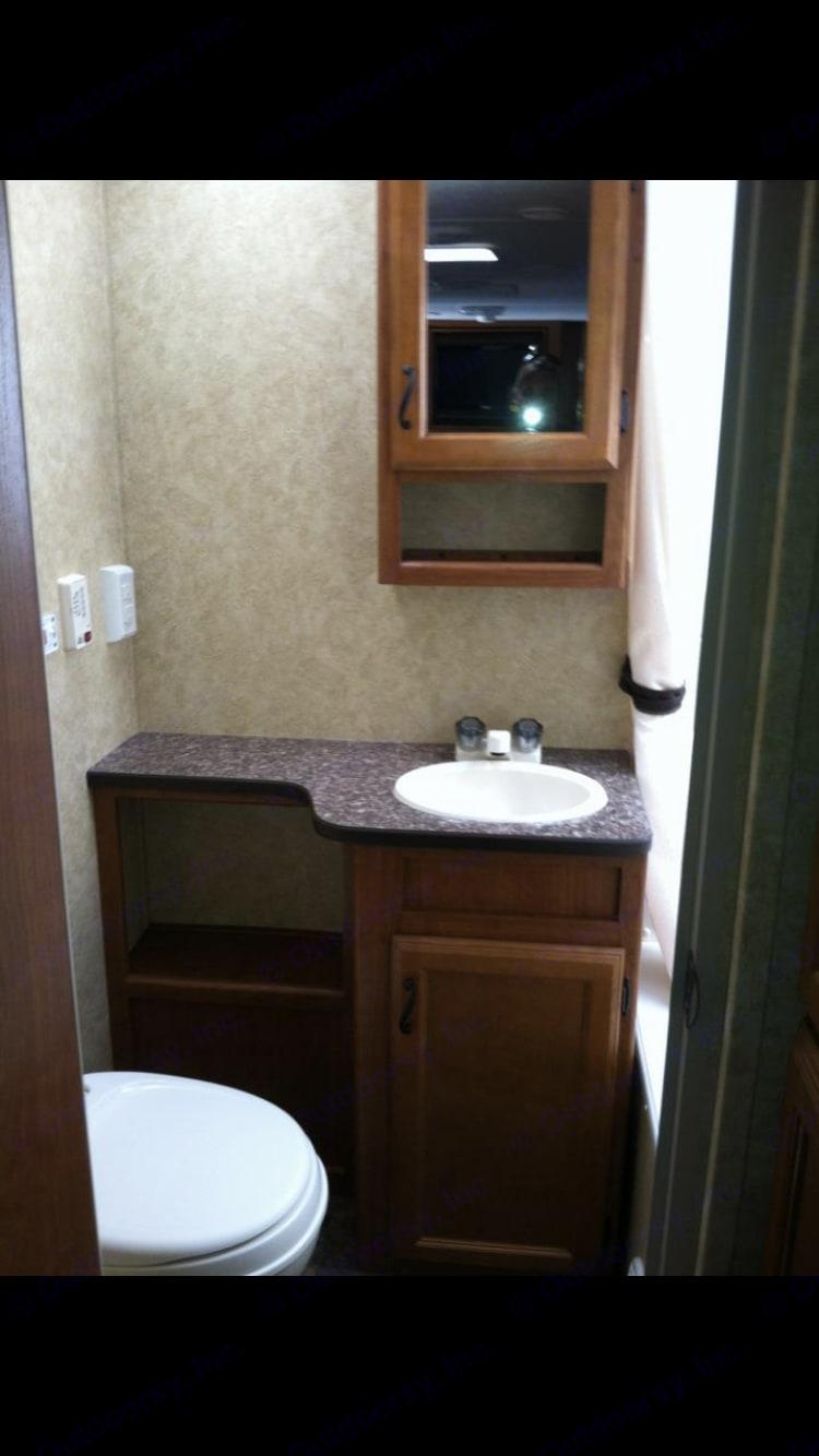 Bathroom sink. Prime Time Tracer 2013