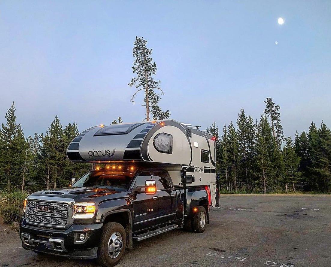Yellowstone National Park. GMC Cirrus Camper 2018