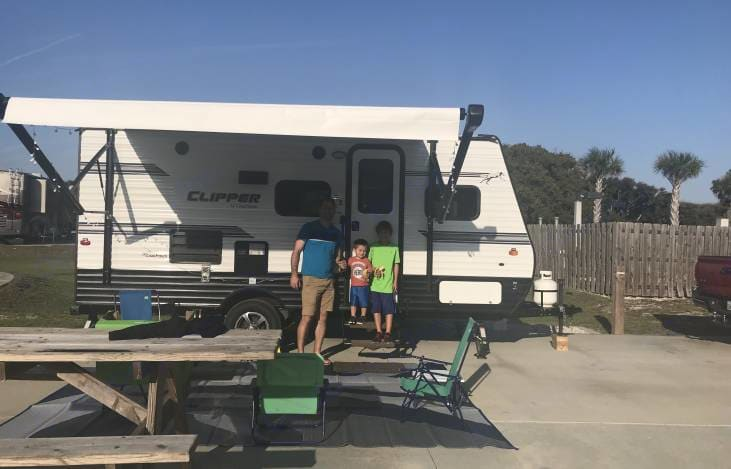 Family owned RV that lives to share the experience!!. Coachmen Clipper 2018