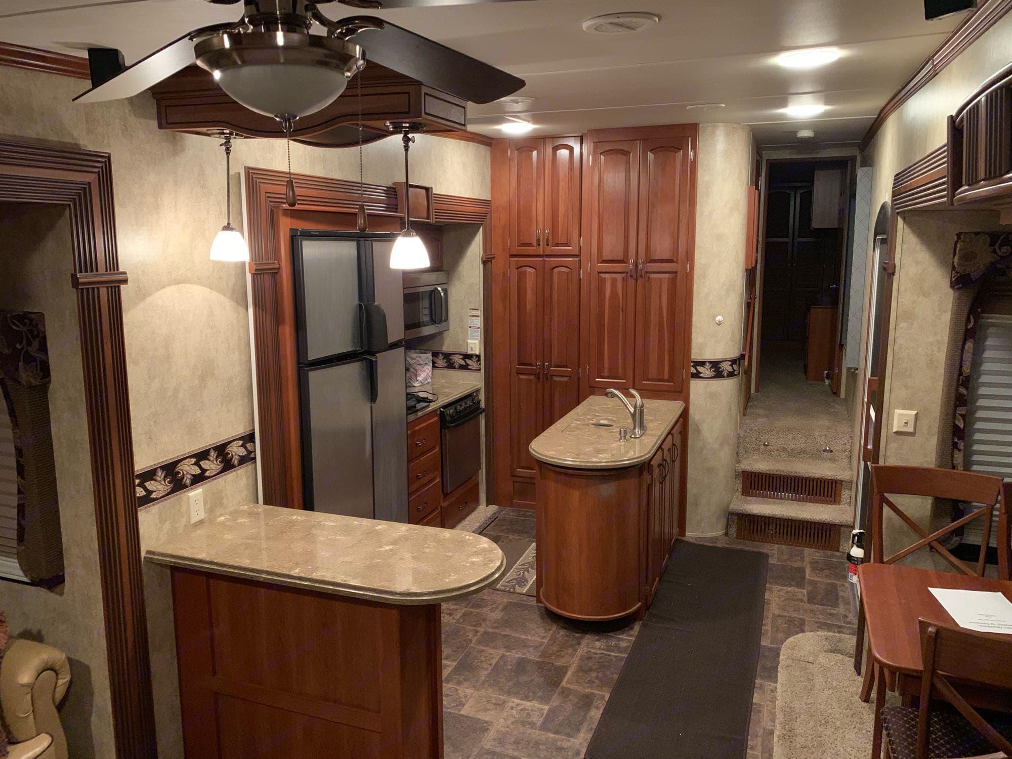 kitchen/Entry. Keystone Alpine 2013