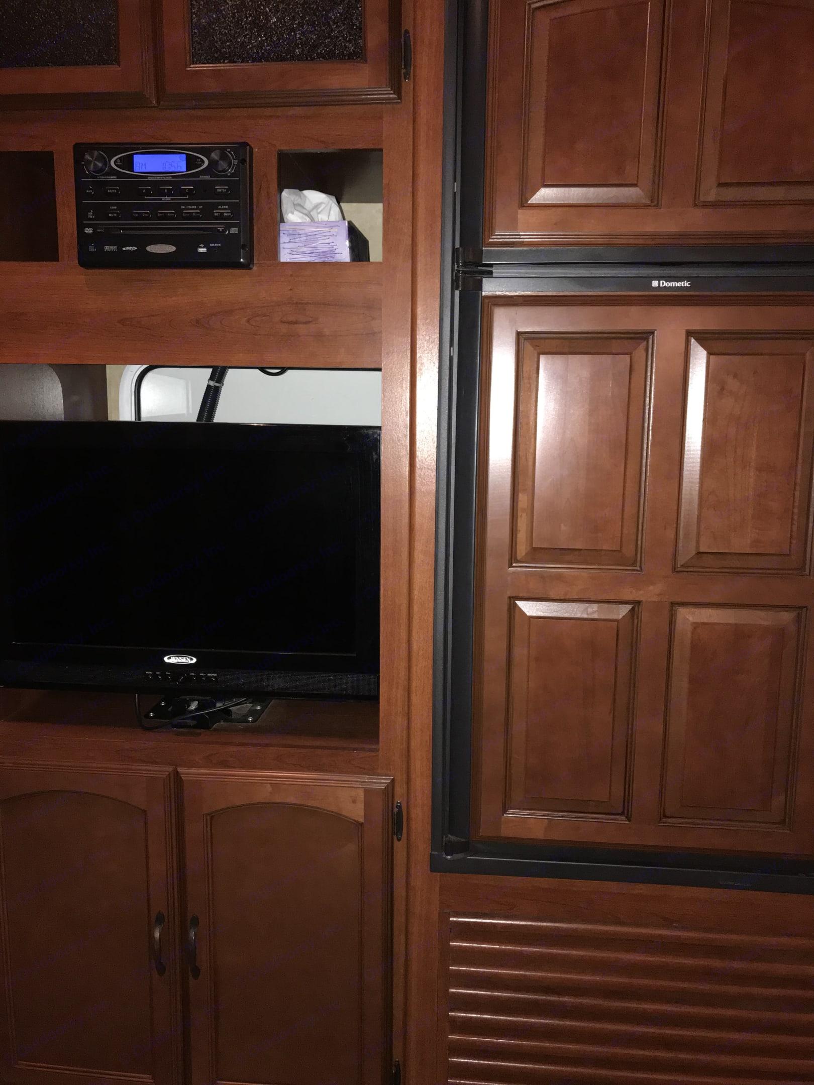 Living Room/Kitchen. Forest River Salem Hemisphere 2012