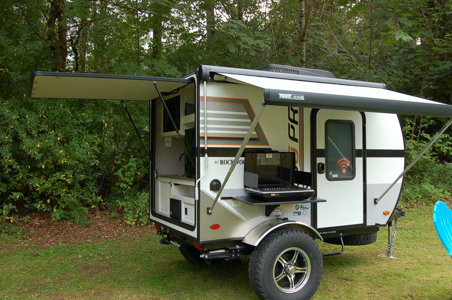 Sits high for your off-highway adventures!. Forest River Rockwood 2019