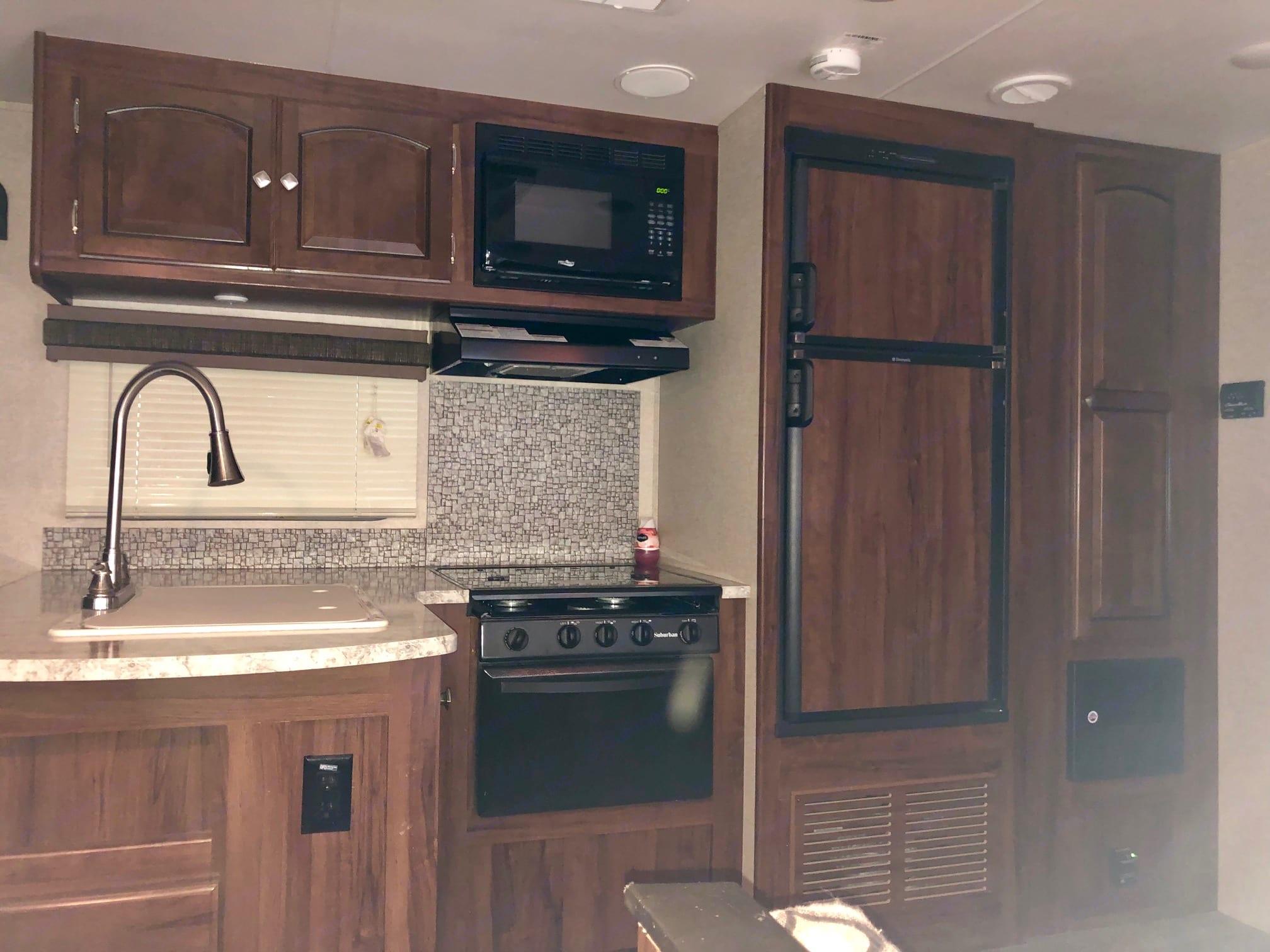 Kitchen 2. Heartland North Trail 2017