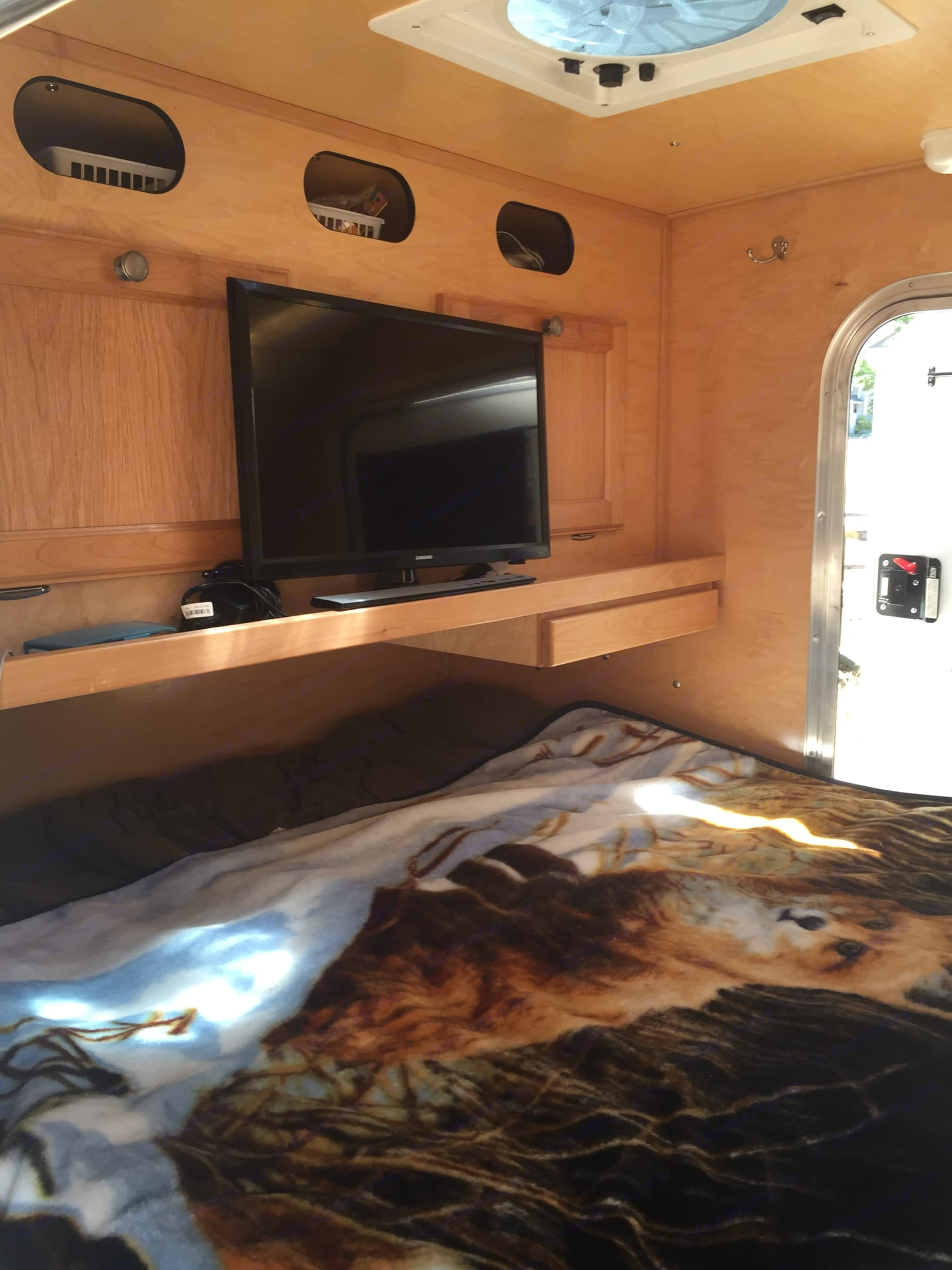 Watch video from a personal device. Custom Camper Trailer 2015
