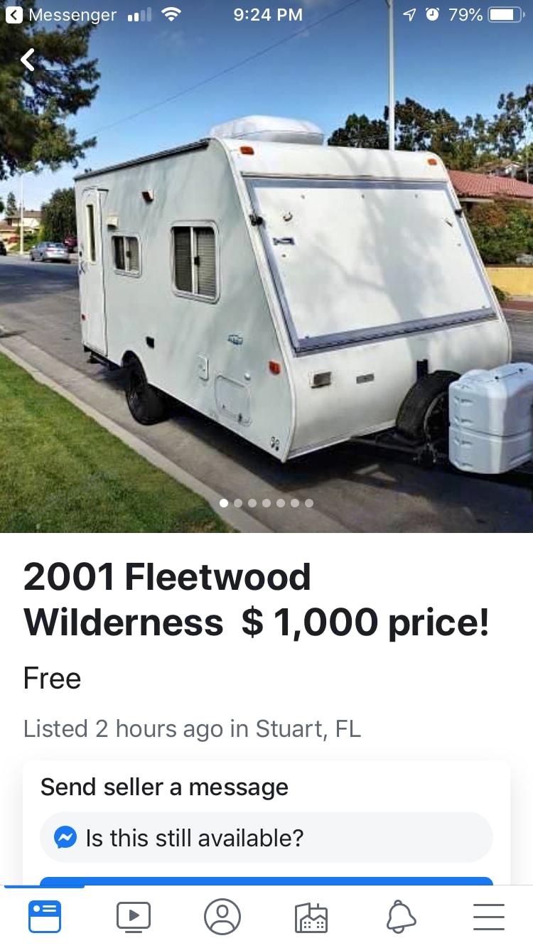 Fleetwood Wilderness 2001