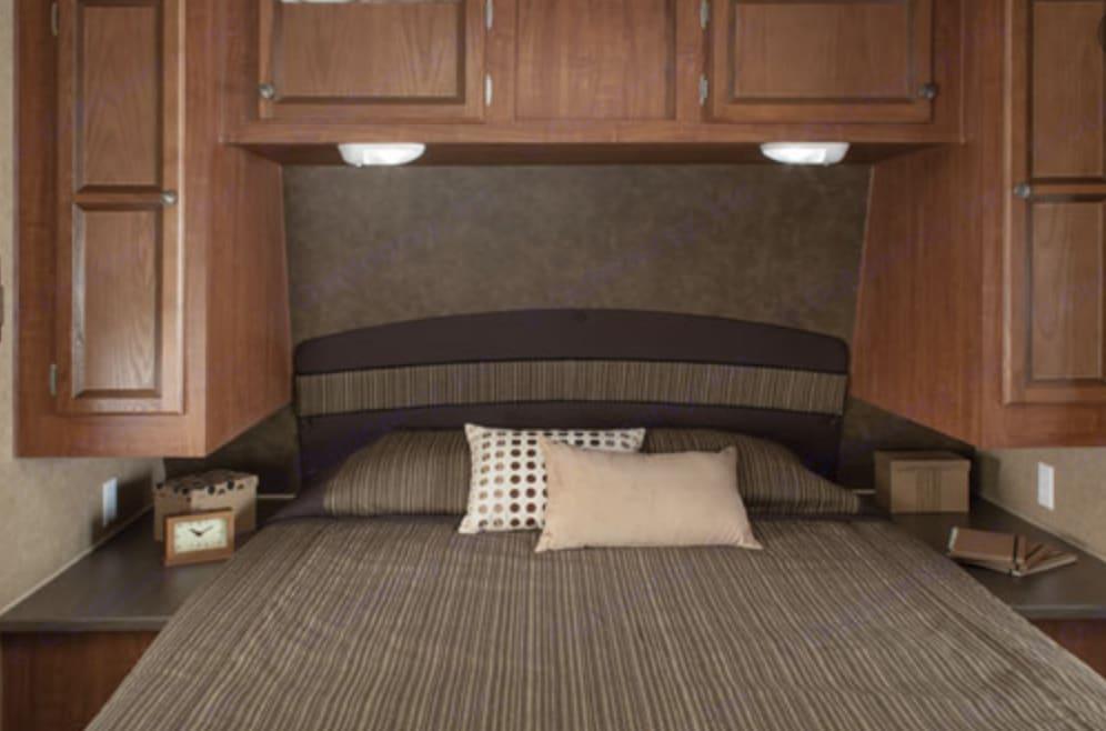 Master Bedroom. Jayco Jay Flight 2013