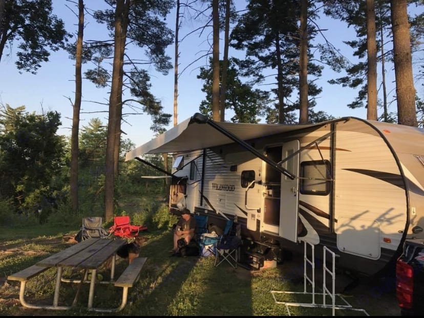 Making memories is fun in this camper!. Forest River Wildwood 2016
