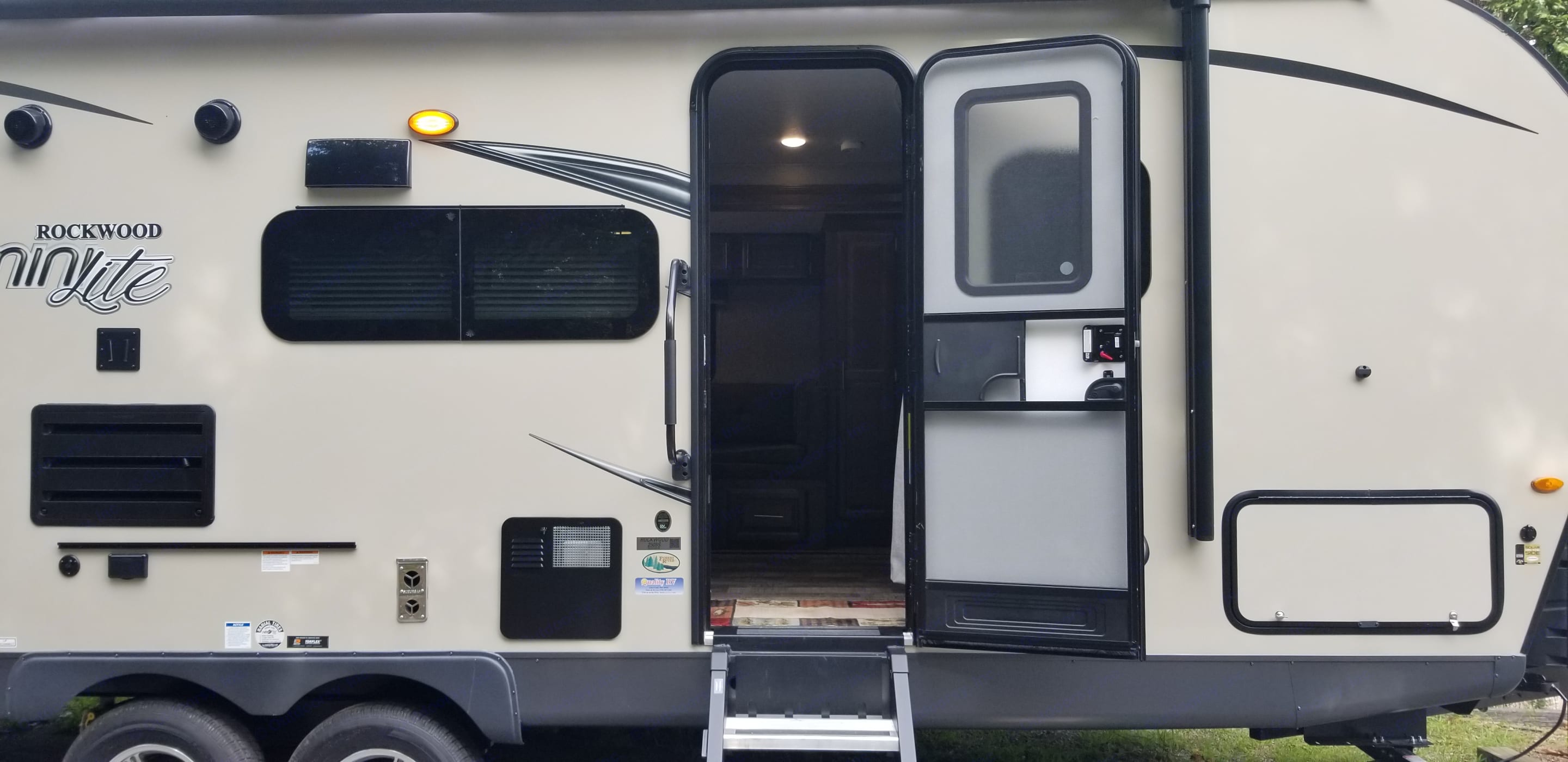 Welcome to your cabin on wheels!. Forest River Rockwood Mini Lite 2019