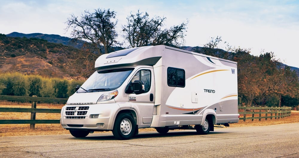 Great fuel milage, easy to drive and park.. Winnebago Trend 2014