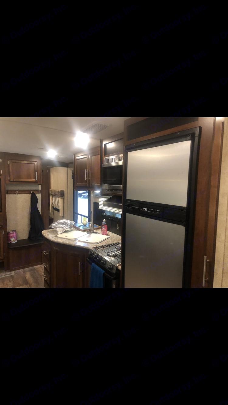 Kitchen. Jayco Eagle 2016