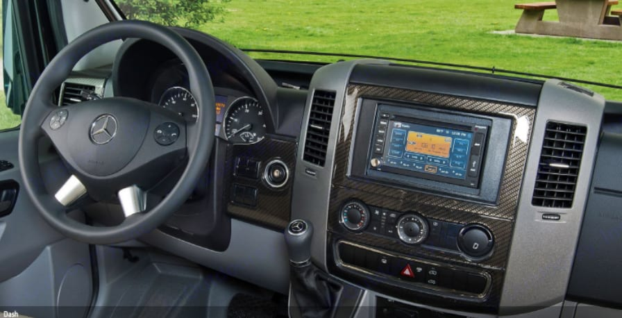 Cockpit.  Easy to Drive.  . Winnebago Era 2015