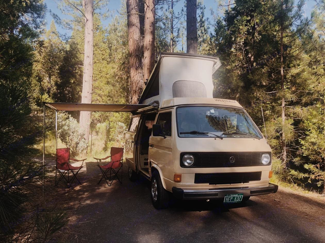 can you see yourself here?. Volkswagen Westfalia 1982