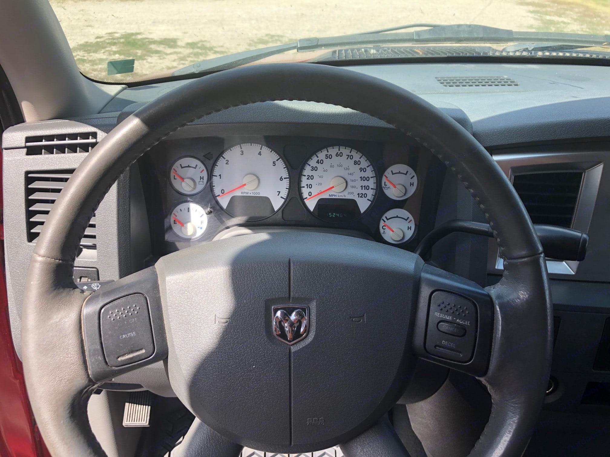Driver side. Dodge 1500 2007