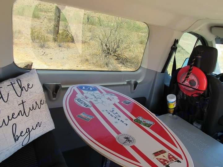Create your own skim board memory table! We'll provide a new skim board, you record your memories on it and take it home!. Ford Transit 2015