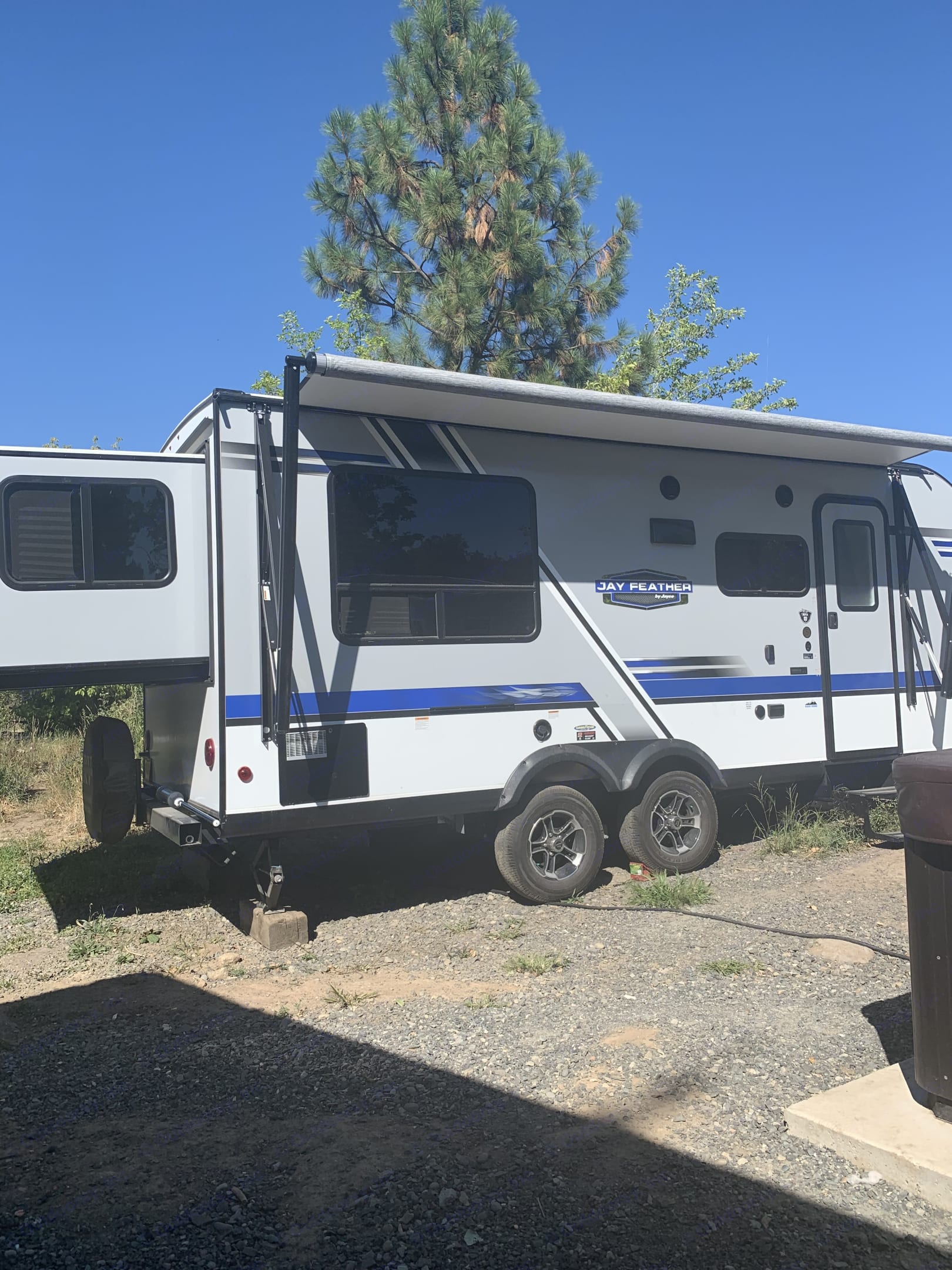 rear view with king slide. Jayco Camper Trailer- Eagle 2019
