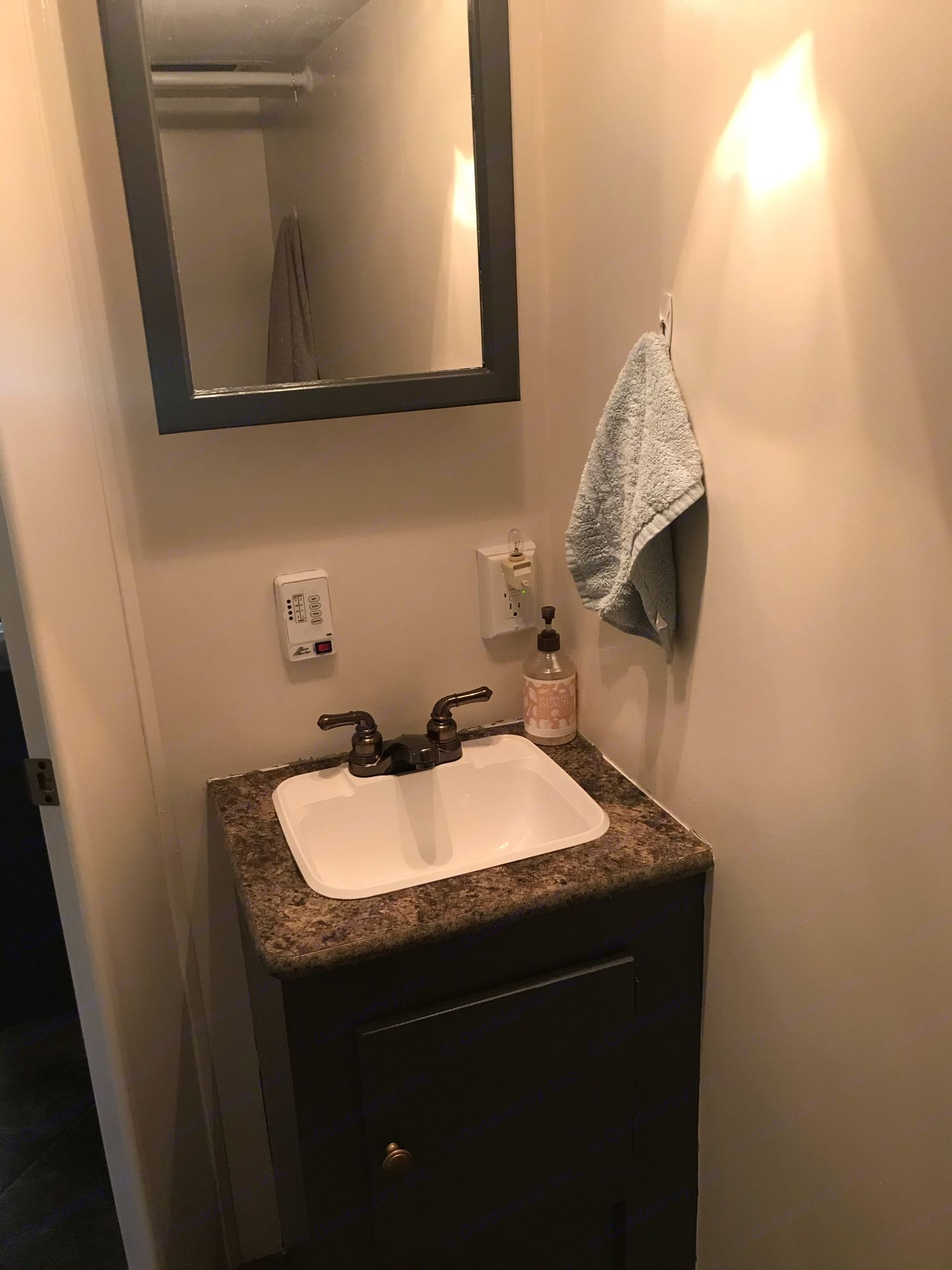 Bathroom sink. K-Z Manufacturing Spree 2013