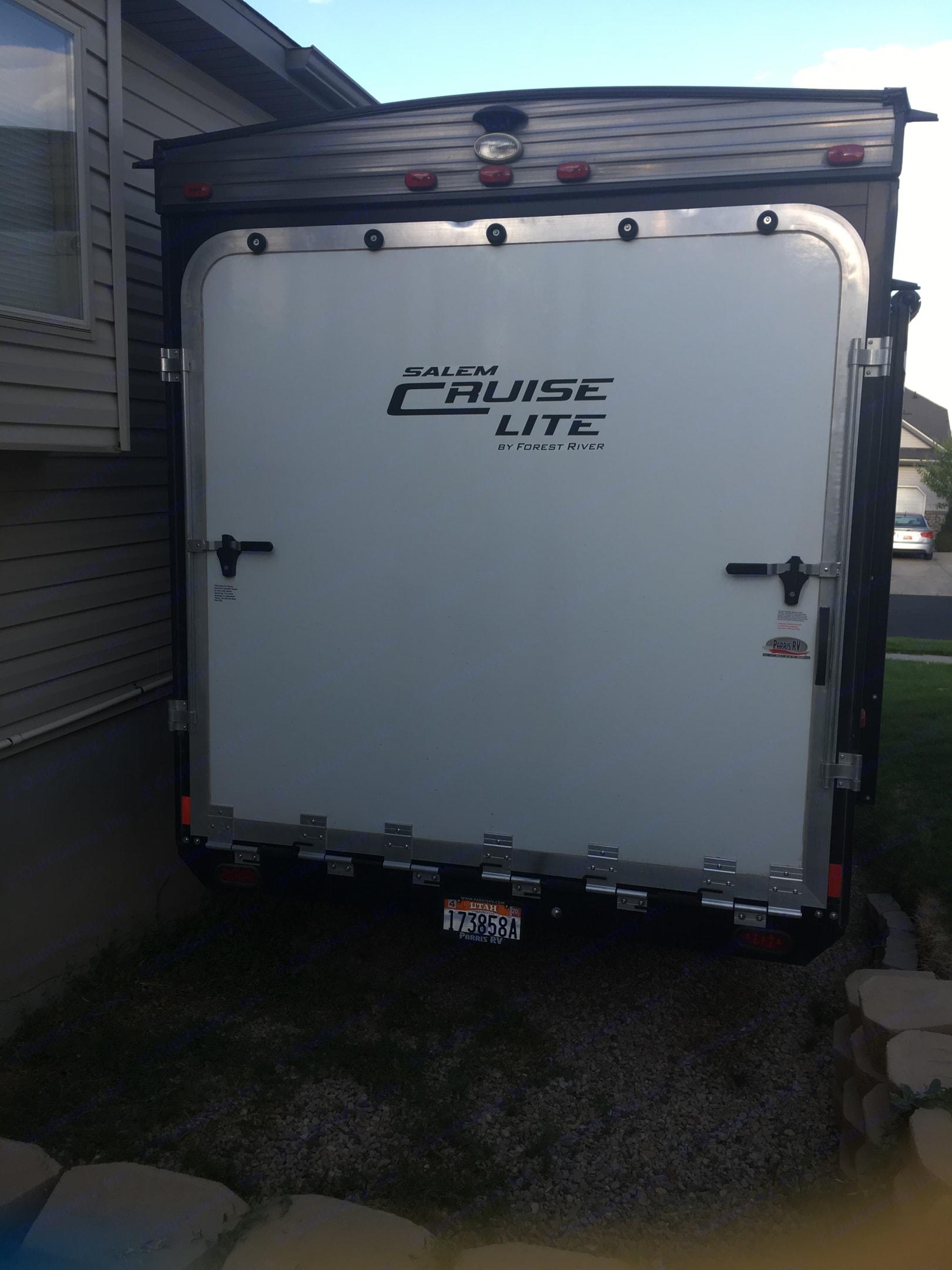 Garage ramp. . Forest River Salem Cruise Lite 2017