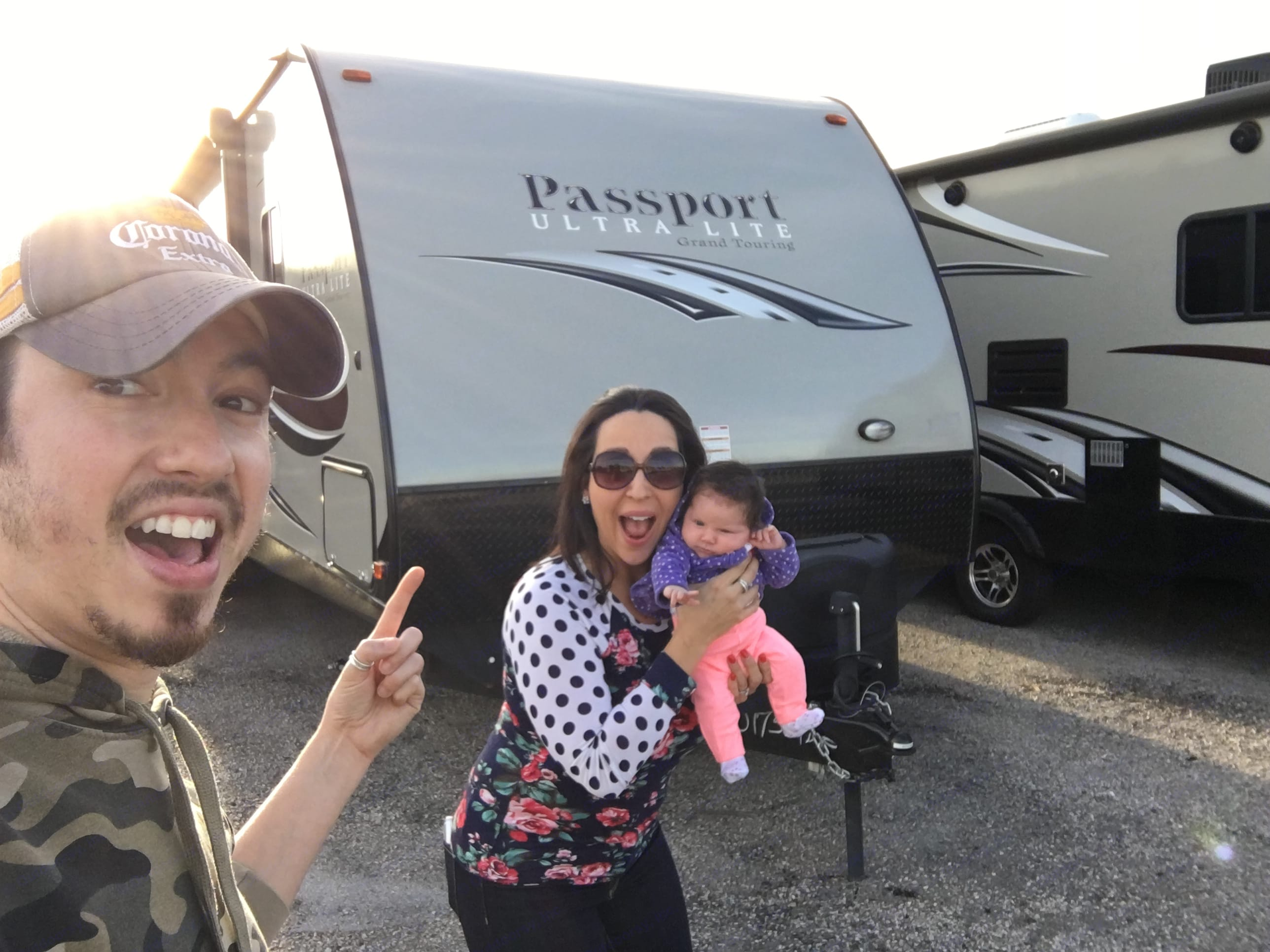 Baby approves. . Keystone Passport 2017
