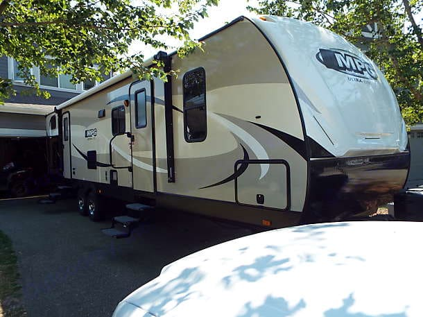 Our Home Away From Home. Cruiser Rv Corp MPG 3100BH 2016