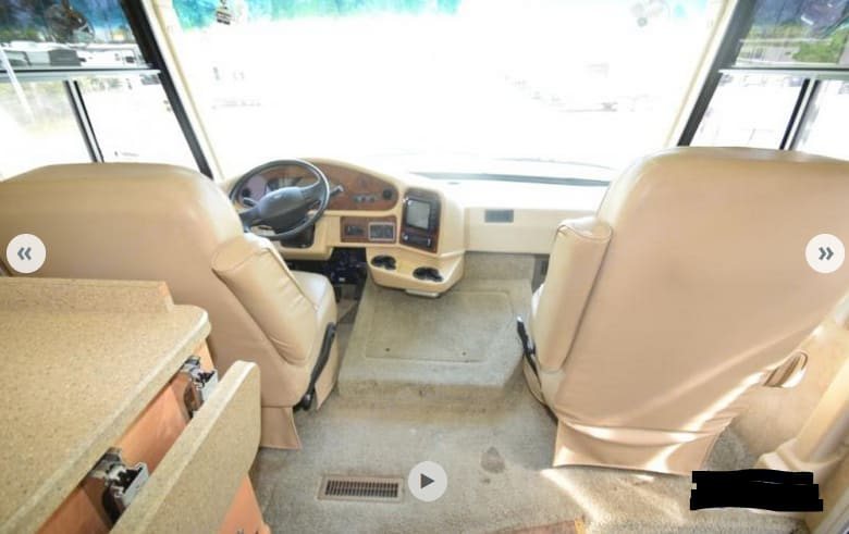 Front cockpit. Damon Daybreak 2008