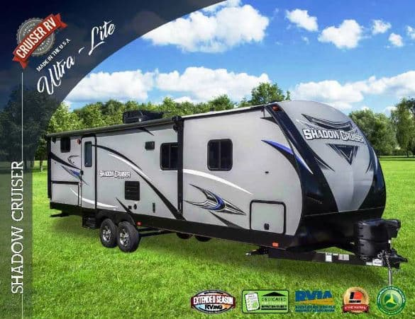 manufacturers catalog picture of trailer. Cruiser Rv Corp Shadow Cruiser 2018