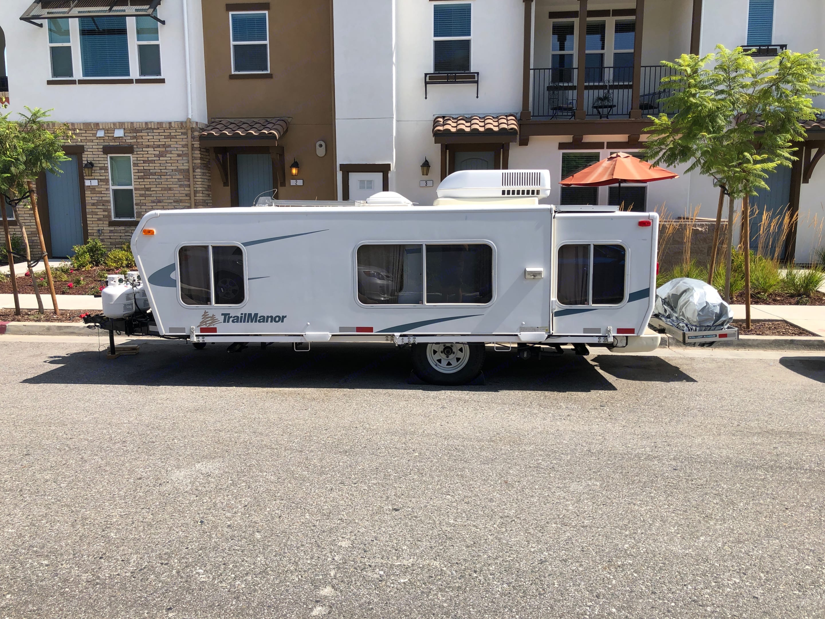 Save gas and time by renting a travel trailer that is easy to tow. Trailmanor 2619 2007