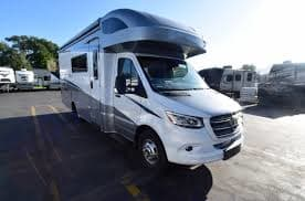 Easy to drive.  Diesel that is very fuel efficient. Perfect size for fun. Winnebago View 2020