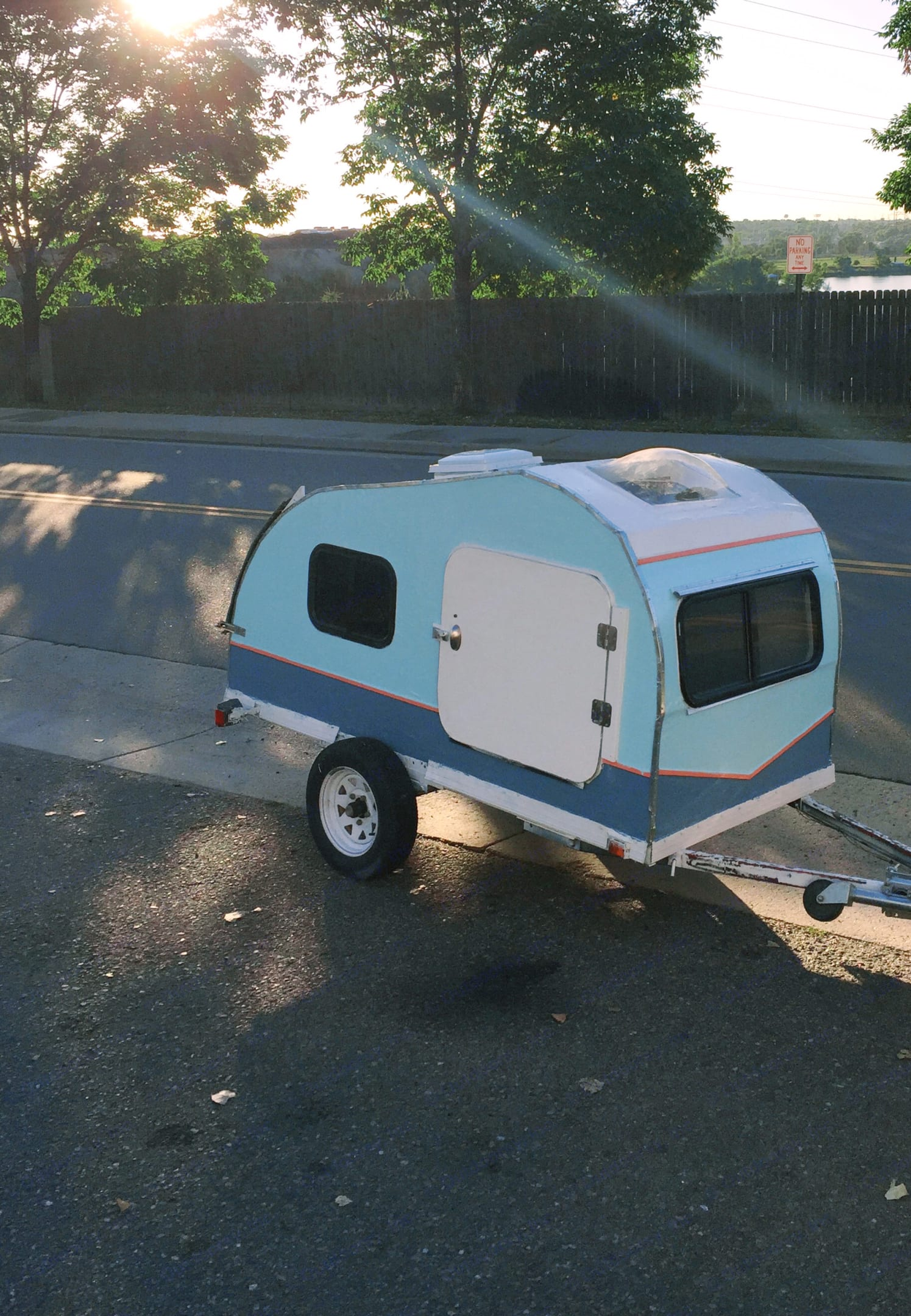 Custom Teardrop Camper 2010