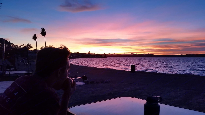 Havasu sunsets are the best.... Dutchmen Aspen Trail 2018