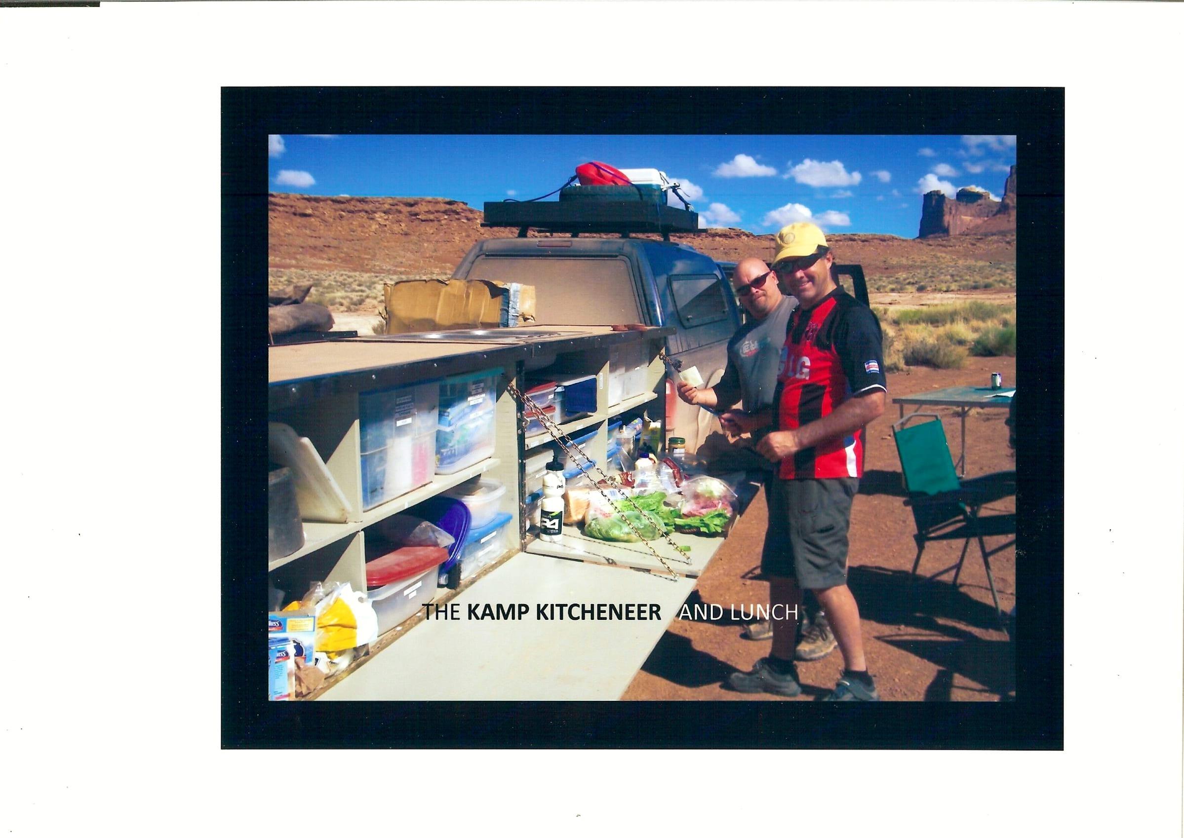 Kamp Kitcheneer And Lunch. Private manufacturer Kamp Kitcheneer Off Road Kitchen Trailer 2016