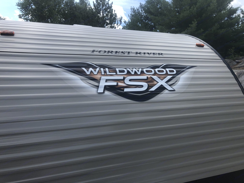 Wildwood FSX - 179DBK. Murphy bed, double bunk double size. 3pc bathroom. . Forest River Wildwood FSX 179DBK 2020