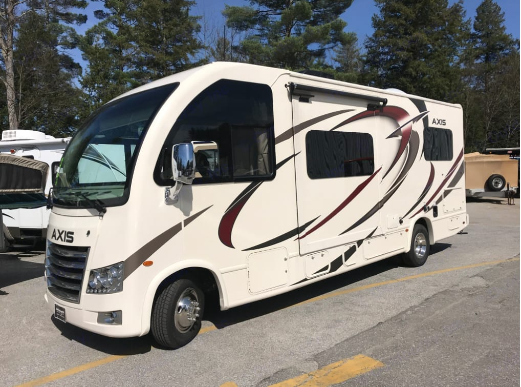Thor Axis 24.1 all cleaned up and ready. . ThorMotorCoach Axis 24.1 2018