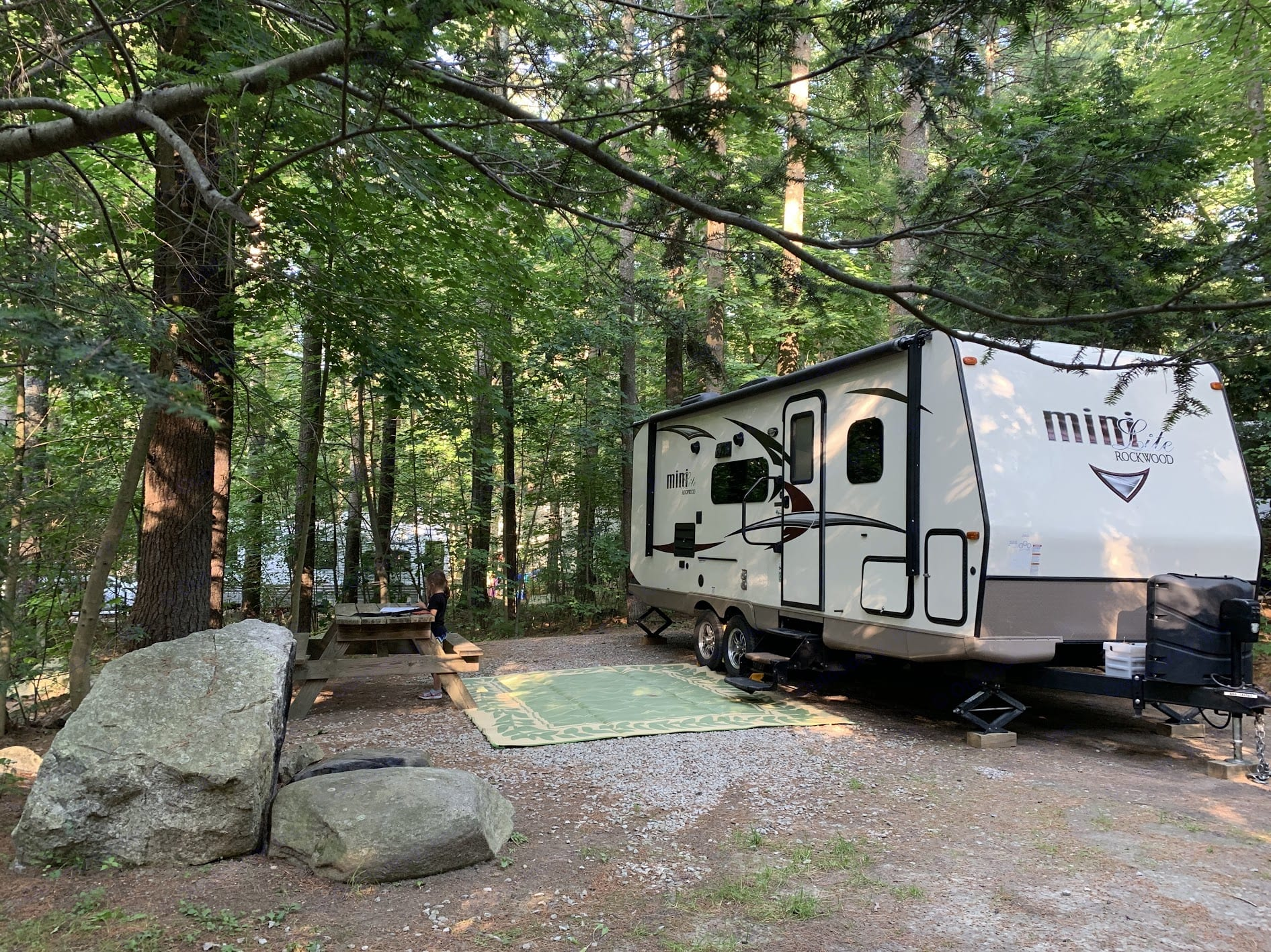 Great home for a weekend or even longer!. Forest River Rockwood Mini Lite 2017