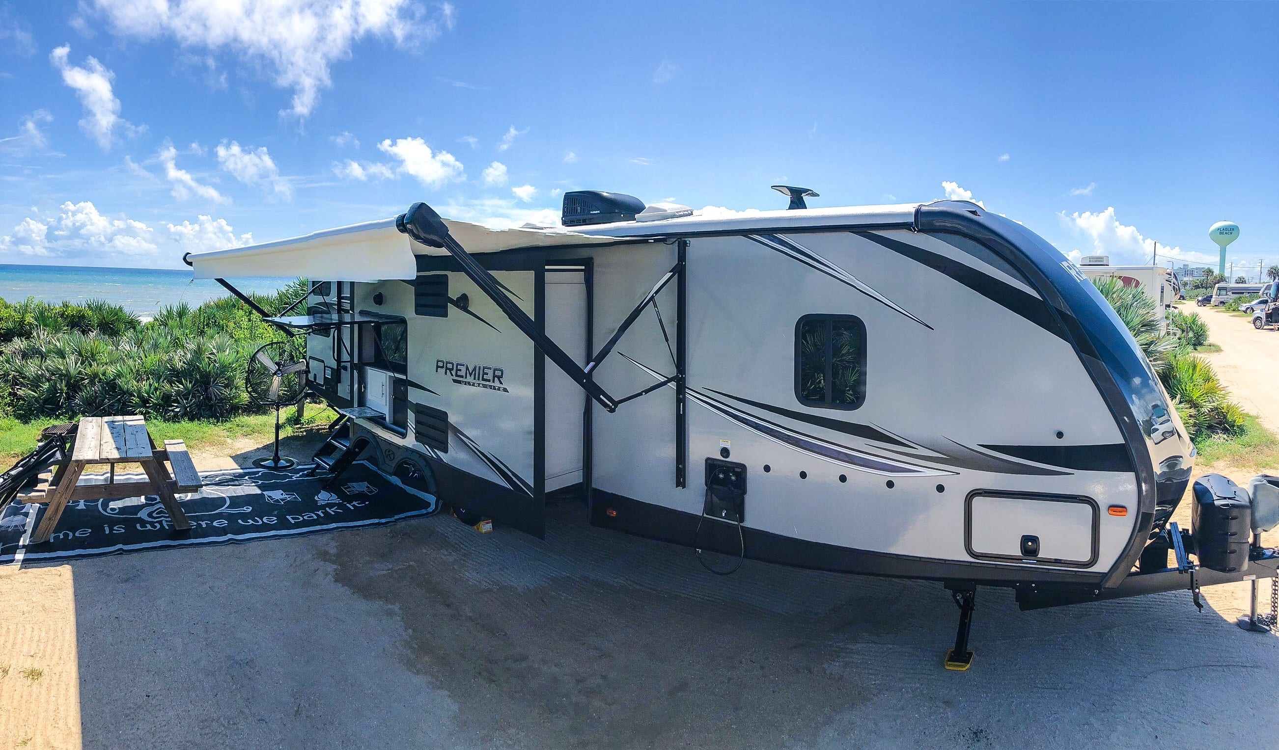 Set up on a beautiful morning at Gamble Rogers State Park at Flagler Beach. . Keystone Bullet Premier 2019