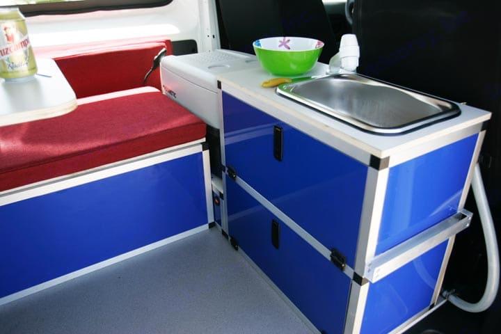 Cocina Puzzle Camper M. Ford Transit 2020