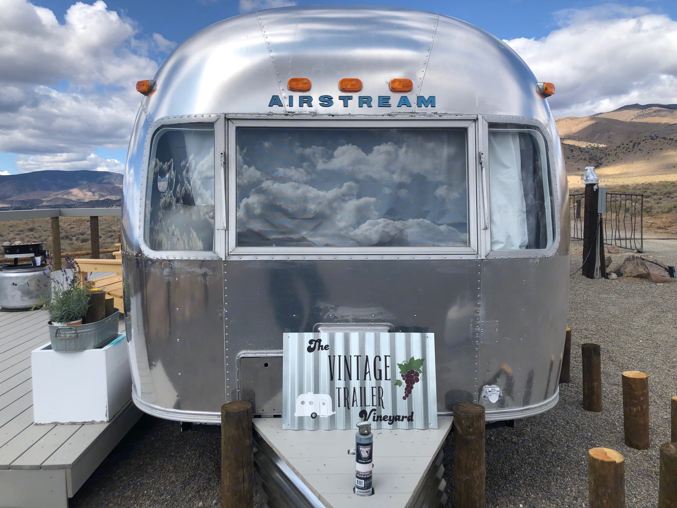 Welcome to Sierra Chateau, our beautifully remodeled 1977 Airstream Land Yacht.. Airstream Land Yacht 1977