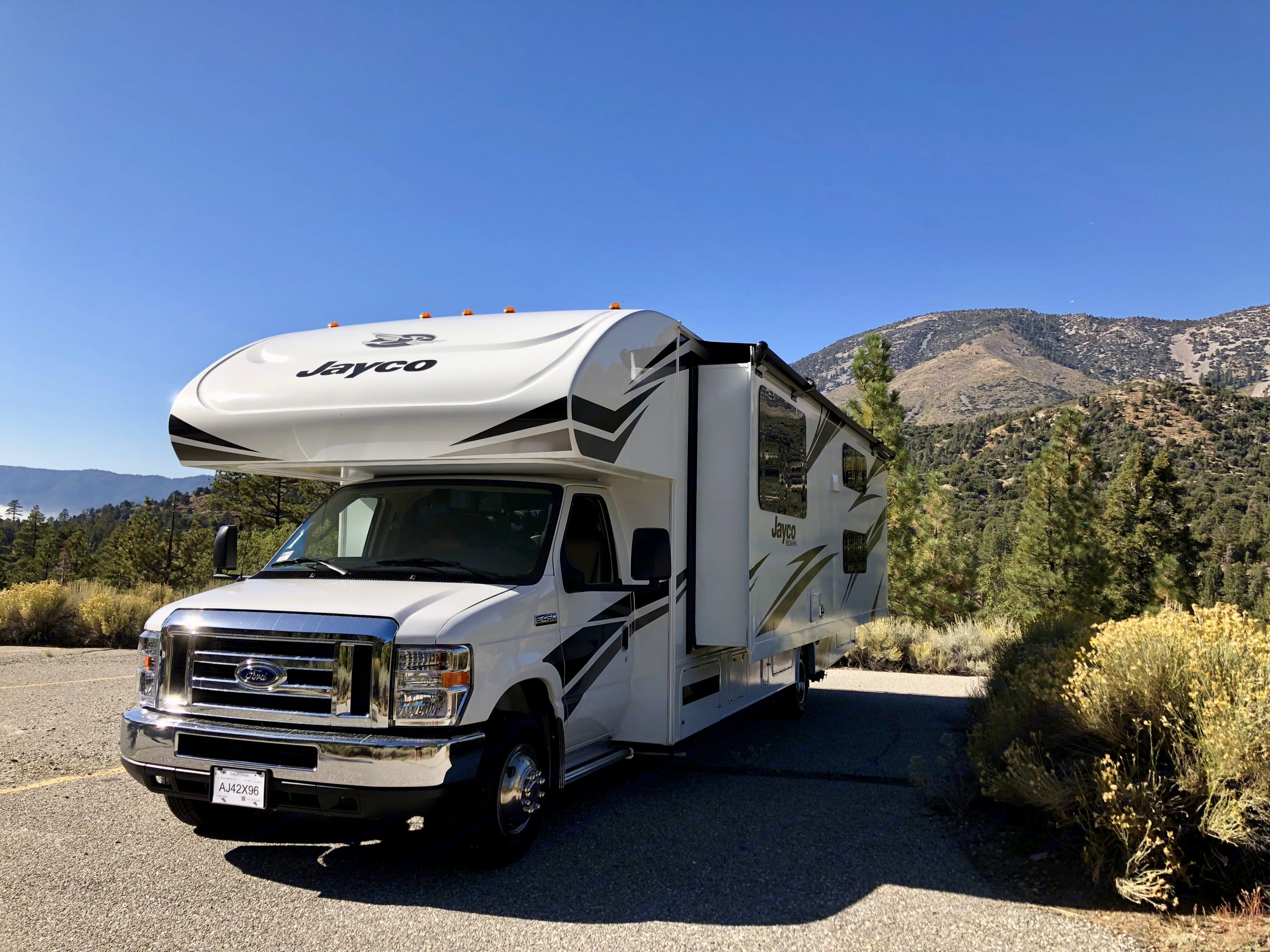 This amazing RV can take you to clear skies like this.... Jayco Redhawk 2020