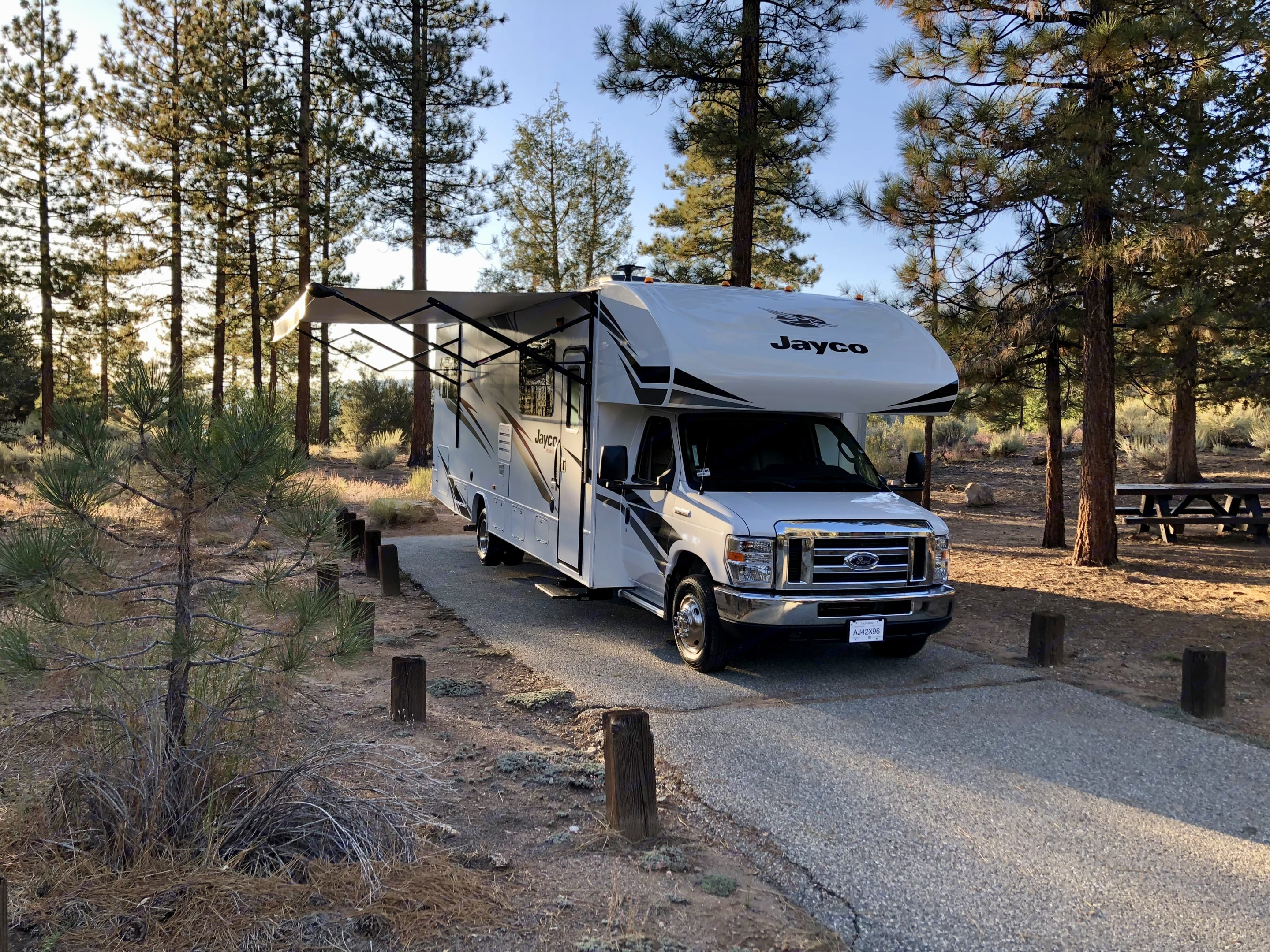 All this campsite needs is you..... Jayco Redhawk 2020