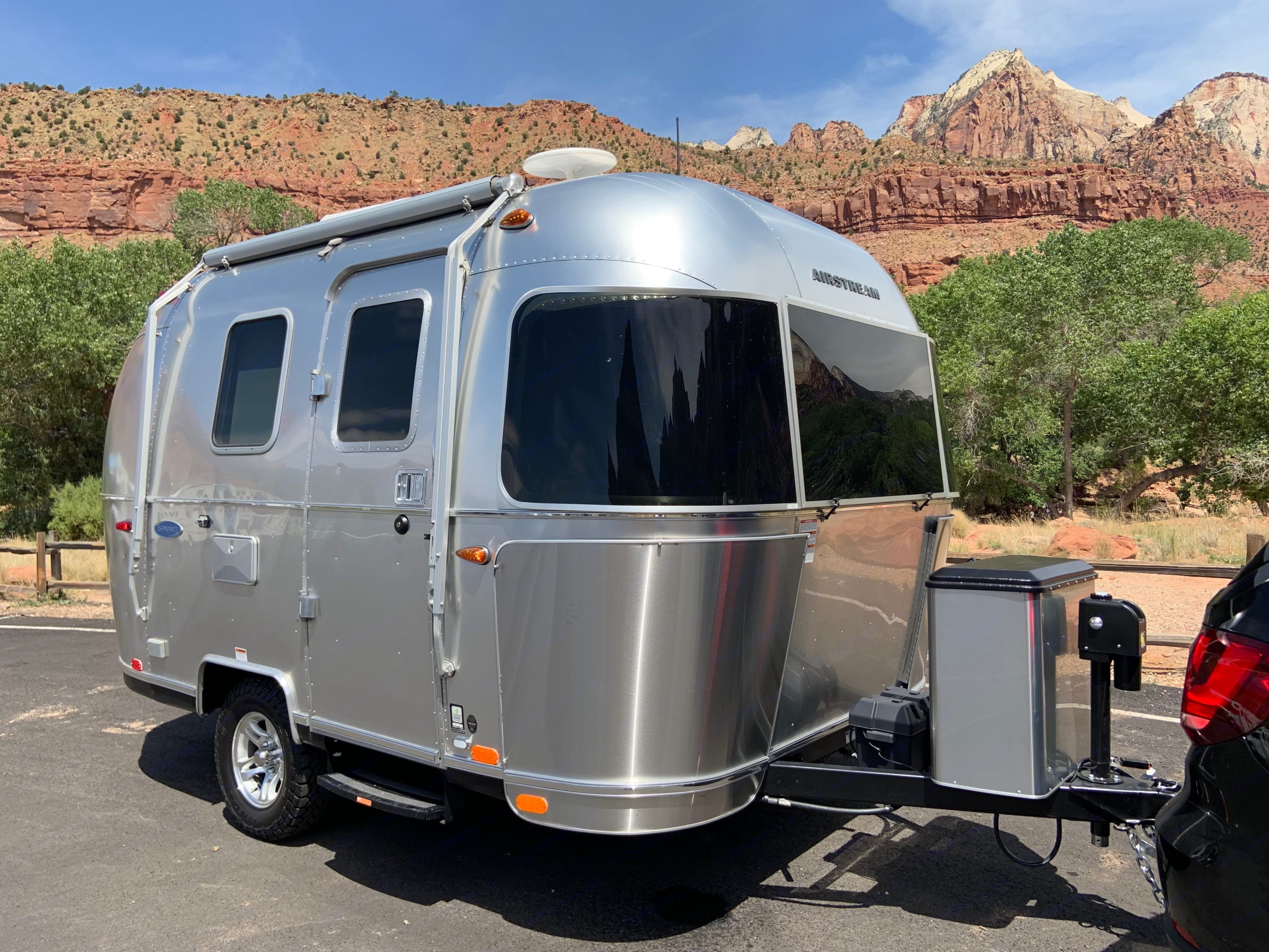 The biggest little trailer on the road. Airstream Sport 2019
