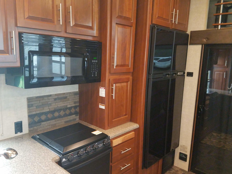 Kitchen galley. Keystone Fuzion 2015