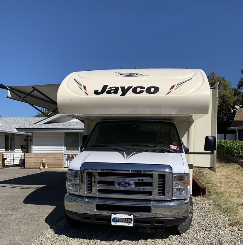 Front of Coach. Jayco Redhawk 2017