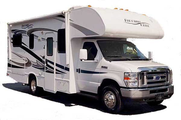 Super Nice Easy-To-Drive Family RV. Thor Motor Coach Freedom Elite 2014