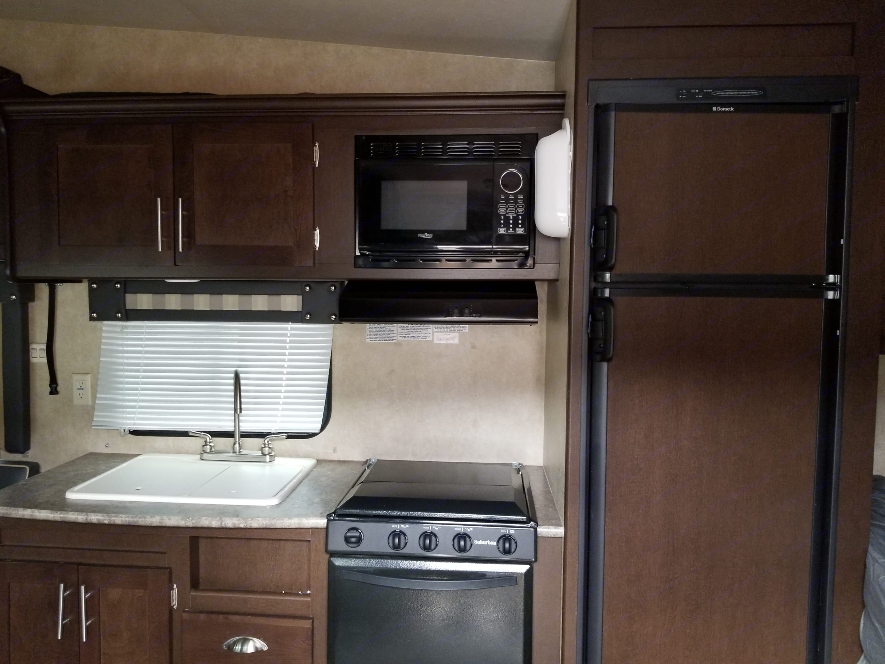 Great kitchen!. Forest River Stealth 2014