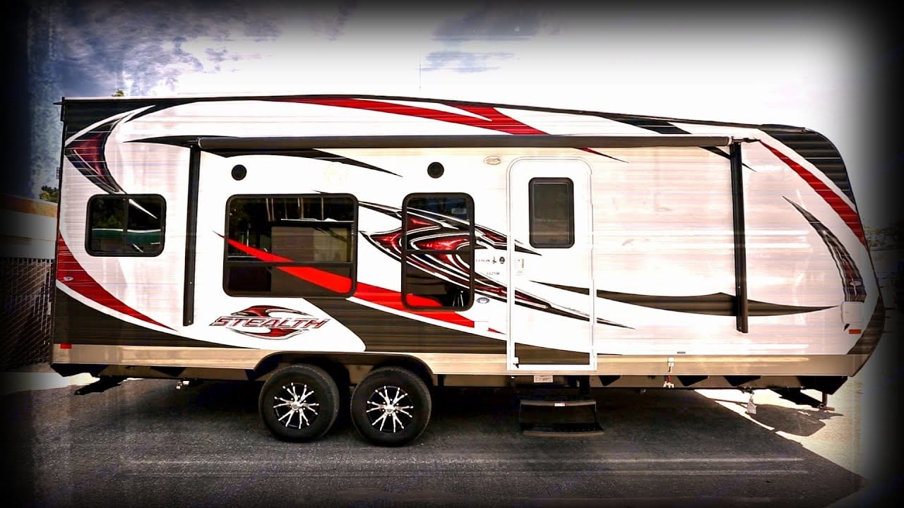 Moab Red Rock Country Approved!! https://youtu.be/0B5X2S5_-GM. Space to haul your toys or just camp in comfort all year long with our Artic Package. Go places others can't because of the extra high ground clearance; just a couple of the customizations on this #1 best-selling model! Made for long weekends w/a 30-gallon fuel station, 100-gallon water tank, and generator. Stocked with everything you need to enjoy your outdoor vacation - just pack your clothes and food and get ready to enjoy the magnificent Moab outdoors. Forest River Stealth 2014