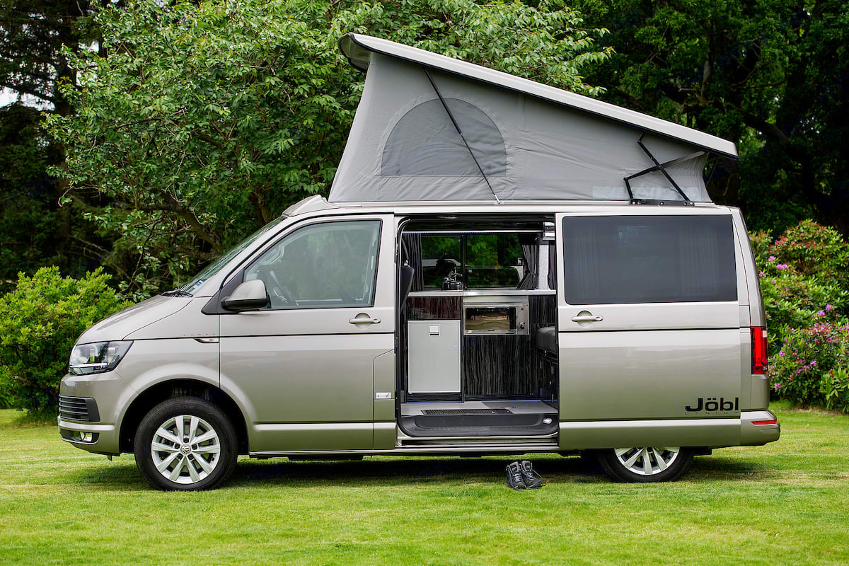 Our VW Jobls's offer a spacious and versatile living and sleeping area . Volkswagen Jobl 2020