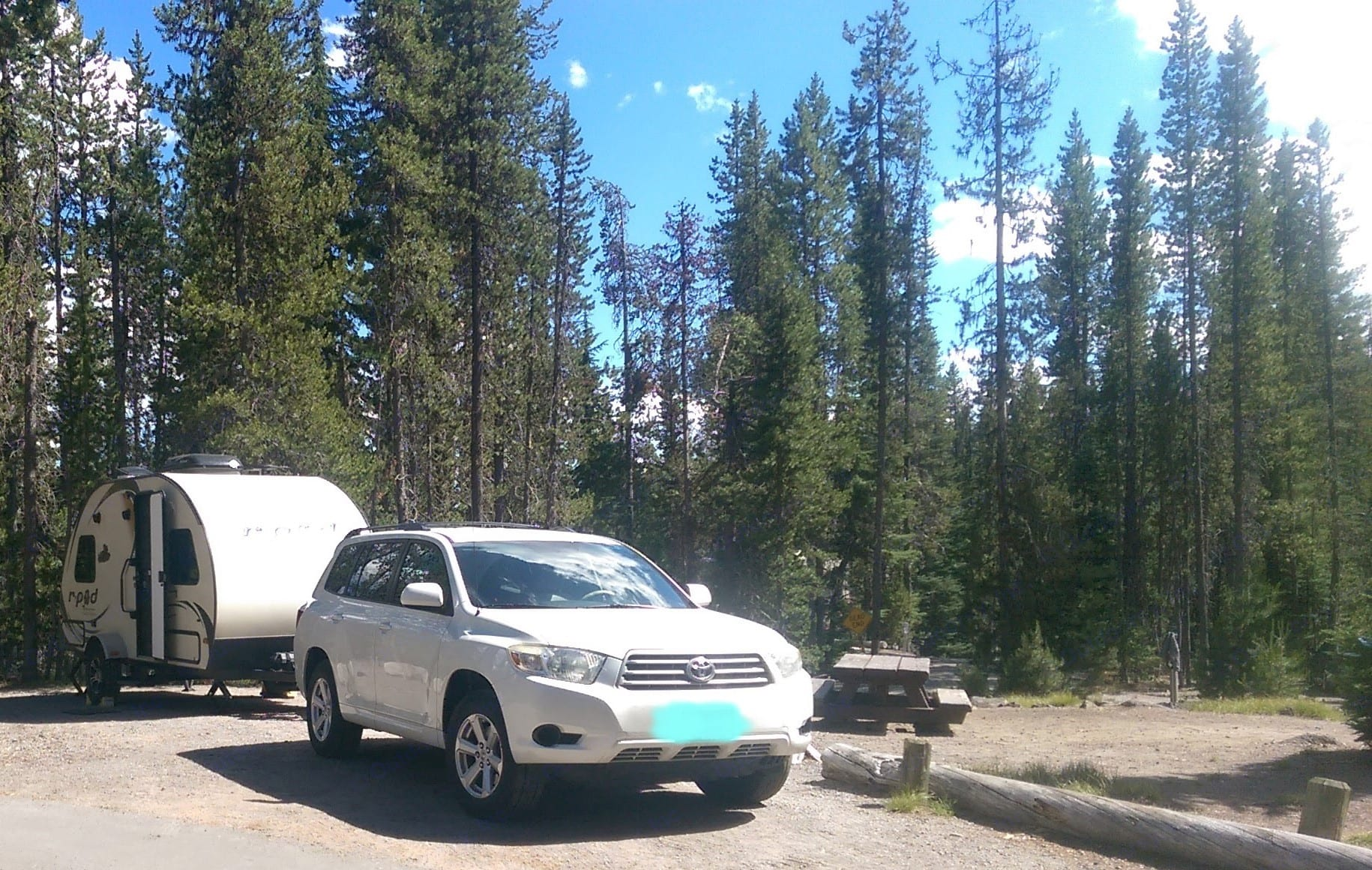 A Central Oregon Campground Getaway. Forest River R-Pod 2014