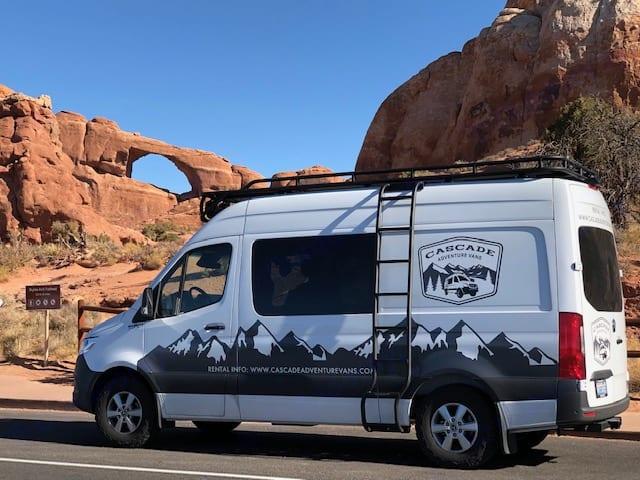 Cascade Adventure Vans Camper Van. Mercedes-Benz Sprinter 2019
