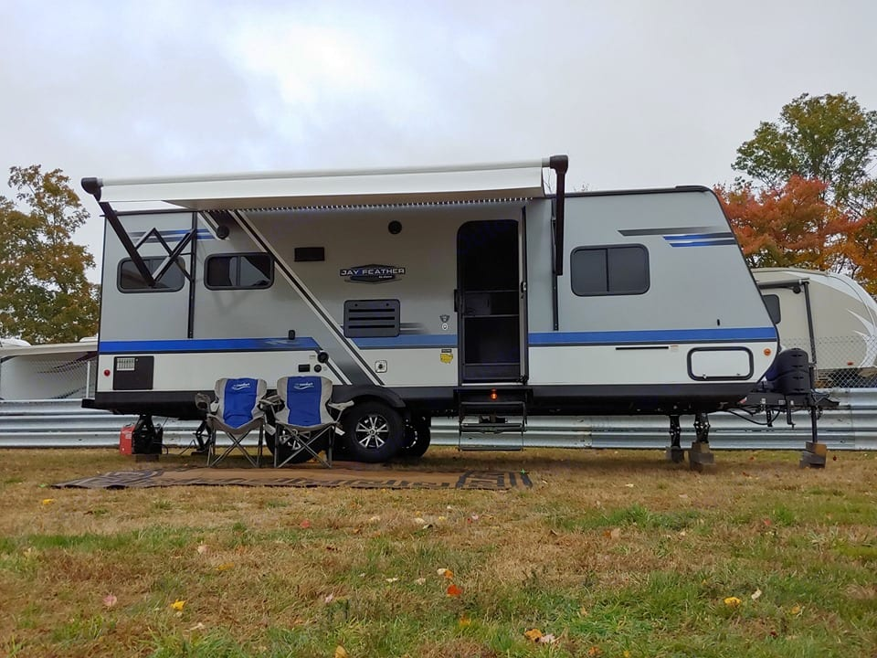 10/24/19 Ran a 4 day weekend on the generator and propane, no problem!. Jayco Jay Feather 2018