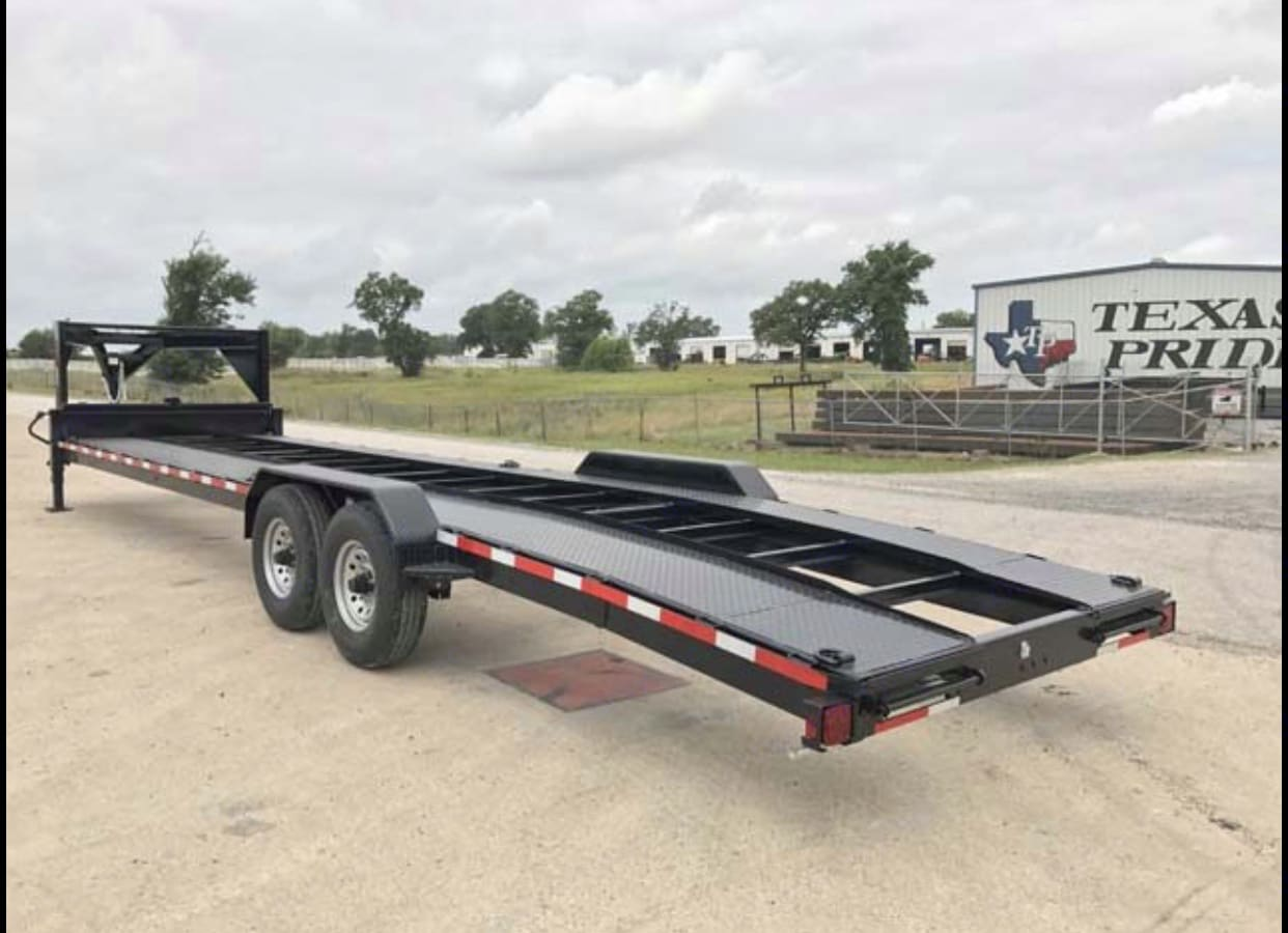 Texas Pride Gooseneck Car Hauler Trailer 2020
